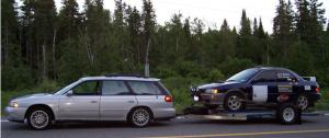 rally trailer